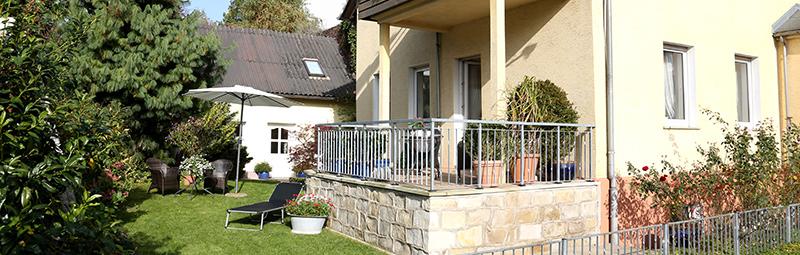 Haus Reisig - Ferienwohnung mit Terrasse und Garten