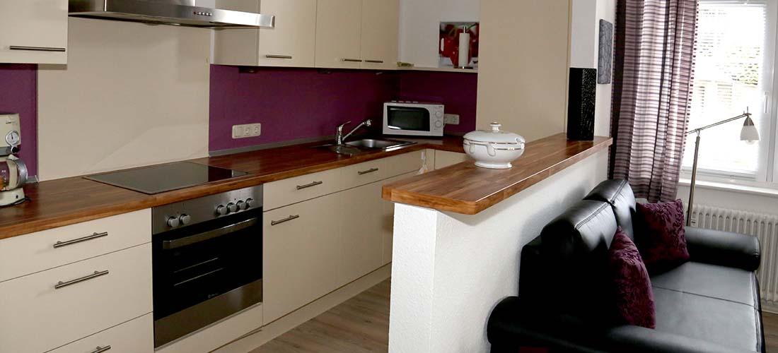 Modern ausgestattete Küchen
